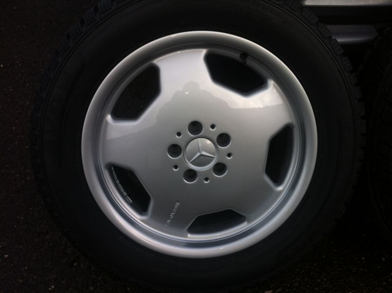 Alloy wheel reapir before treatment