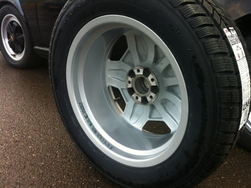 Alloy wheel reapir after treatment