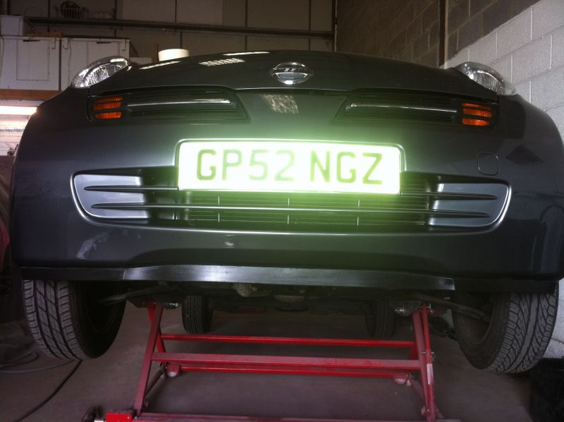 Bumper repair to a Nissan Micra